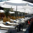 В парке Горького открылся «Оливковый пляж»