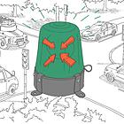 Эксперимент The Village: Какая мигалка главнее на дороге