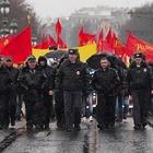 Фоторепортаж: День народного единства в Петербурге