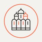 Вандалы разрисовали стены мечети на Поклонной горе