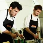 Omnivore Food Festival: Майкл Гринвольд и Симоне Тондо готовят орзотто из ячменя и тартар из голубя