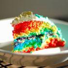 How To Make Rainbow Cake
