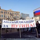 Фоторепортаж: Митинг в поддержку Путина в Петербурге