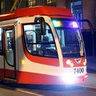 В городе появились первые скоростные трамваи