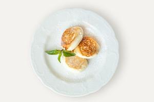 Завтраки дома: Сырники из «Кафе Пушкинъ»