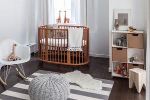 Как организовать детскую в однокомнатной квартире