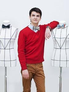 Эффект бабочки: Как одиннадцатиклассник стал шить мужские аксессуары