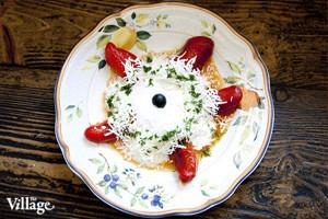 Рецепты шефов: Запечённый болгарский перец с домашним йогуртом