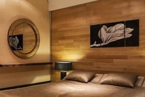 Квартира для семьи  с минималистским интерьером