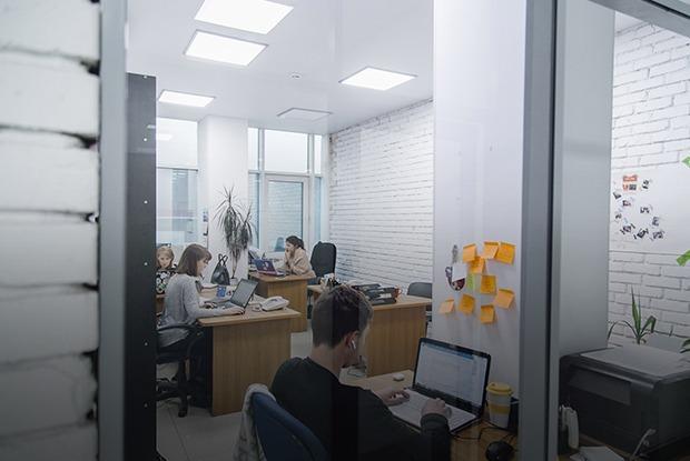 Как выглядит офис  рекламного агентства Eddison во Владивостоке