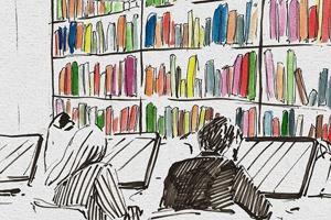 Библиотека им. Достоевского