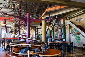 Roller-coaster: Ресторан с американскими горками в «Сочи Парке»