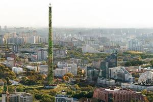 Семь вариантов преображения екатеринбургской телебашни от дизайнера команды Лебедева