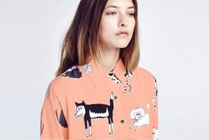 8 женских рубашек с узором