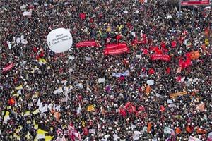 Прямая трансляция: Митинг «За честные выборы» на проспекте академика Сахарова