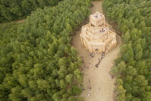 Сотни костров, «Вселенский разум» и дом-шар: Что смотреть на фестивале «Архстояние-2017»