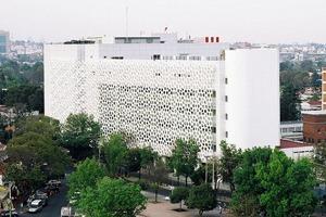 Иностранный опыт: Как фасад здания очищает воздух в Мехико