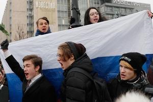 Цветы для ОМОНа: Как прошла всероссийская забастовка избирателей