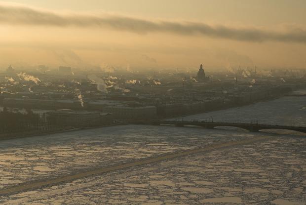Что можно увидеть с петербургского аэролифта