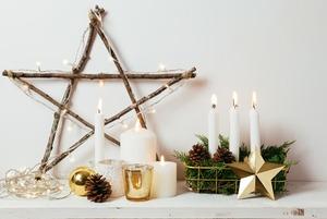 Праздничный декор своими руками