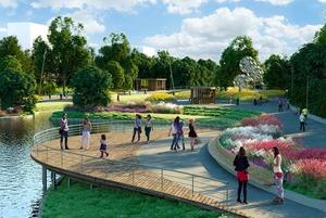 Как будет выглядеть новый парк в Северном Бутове