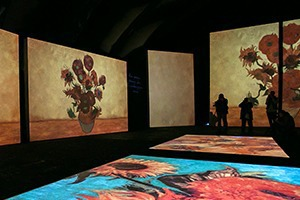 Выставка Van Gogh Alive