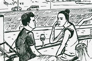 Клуб рисовальщиков: Бар «Стрелка»