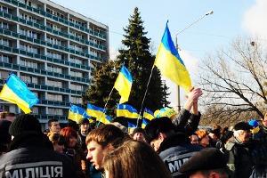 Этот день побега: Гражданское противостояние в Харькове