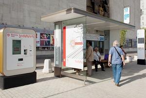 Wi-Fi, USB-порты и автомат по продаже билетов — в Москве открыли современную остановку транспорта