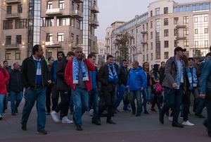 Как Крестовский остров живет в дни матчей на новом стадионе