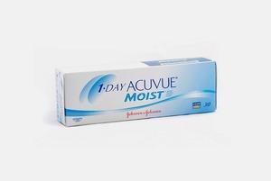 Где дешевле контактные линзы 1-Day Acuvue Moist
