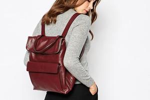 8 кожаных рюкзаков