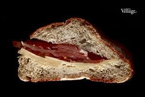 Составные части: Сэндвич с пармской ветчиной из пекарни «Орлоffский хлеб»