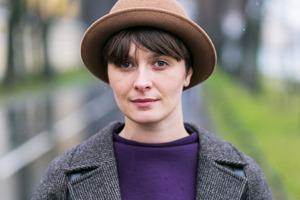 Внешний вид (Петербург): Оксана Девочкина, графический дизайнер