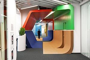 Новый этаж штаб-квартиры «Яндекса»