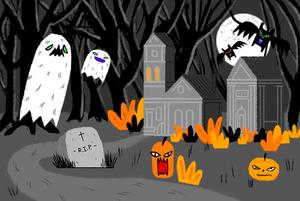 Хеллоуин в Москве: Где искать безутешные души и слушать вечные часы