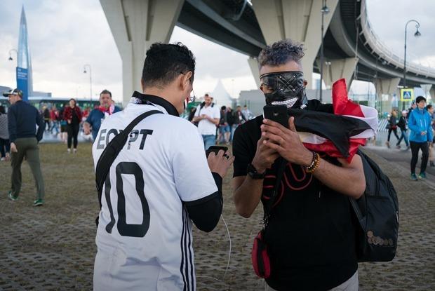 Фараоны и Путин: Петербург в день исторического матча