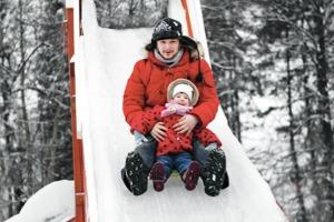 Зима в парках: Тюбинг на Воробьёвых горах, ледяной город в «Кузьминках» и зорбинг в парке Горького