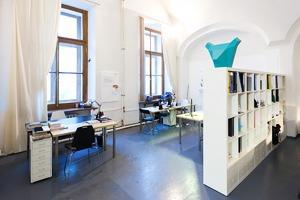 Интерьер недели (Петербург): Офис биеннале современного искусства Manifesta 10