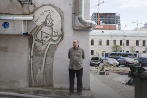 Евгений Фатеев — о первом памятнике Букашкину и арке Покраса Лампаса