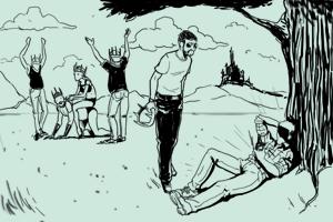 Неизвестный горожанин: Дядя Коля