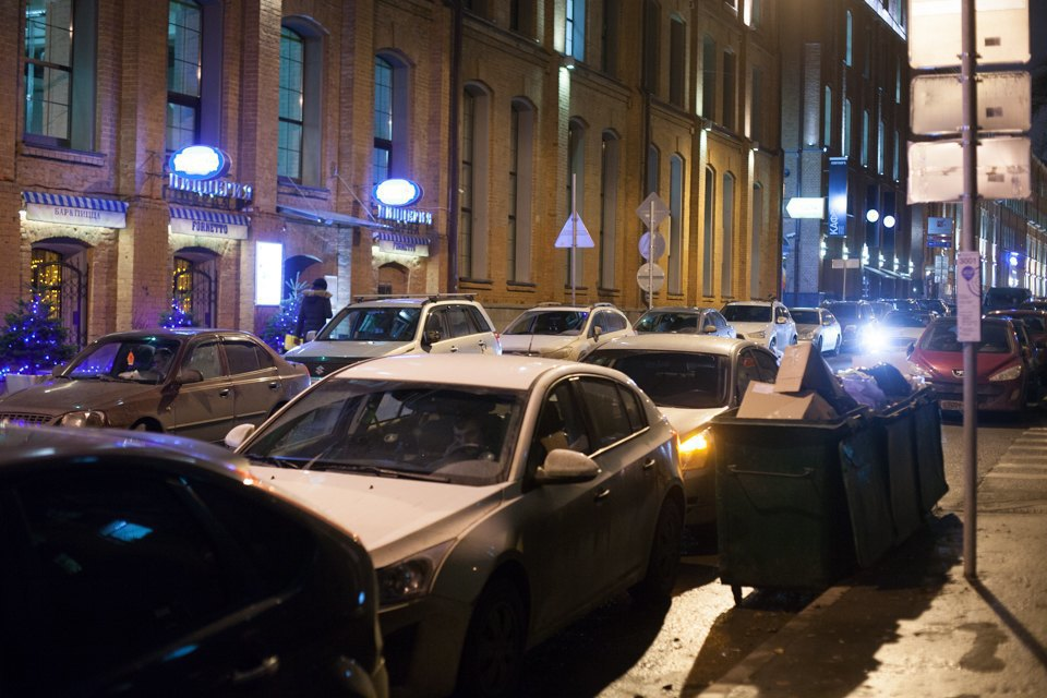 До введения платной парковки . Изображение № 7.