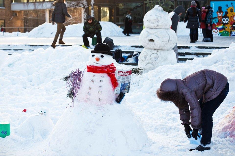 Люди в городе: «Арт-битва снеговиков». Изображение № 20.