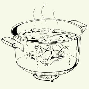 Завтраки дома: Бейгл с лососем иартишоками ибрускетта изресторана «Уголёк». Изображение № 13.