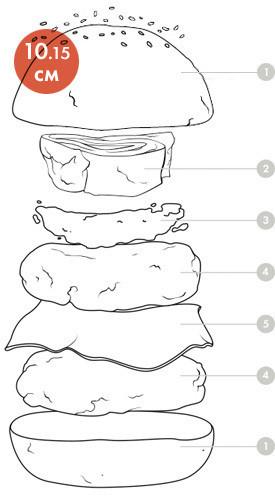 Между булок: что внутри у самых больших московских бургеров, часть 1. Изображение № 45.