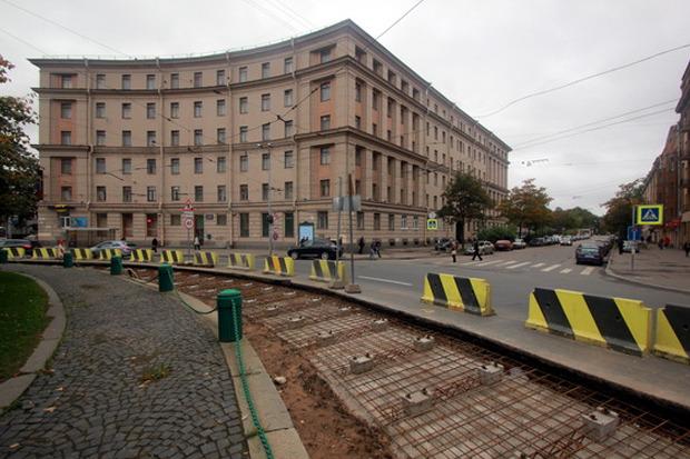 Капитальный ремонт путей на площади Стачек. Изображение № 3.