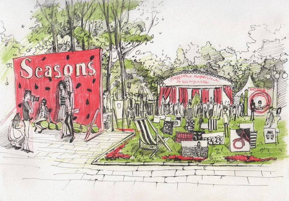 Фестиваль Seasons в Саду «Эрмитаж». Изображение № 1.