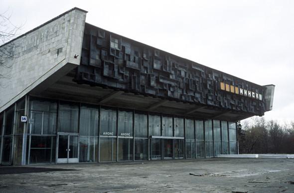 Кинотеатр «Минск», м. «Кунцевская». Должен был открыться после затяжного ремонта в 2008 году, администрация обещала превратить его в новый культурный центр, но открытие не состоялось.. Изображение № 5.