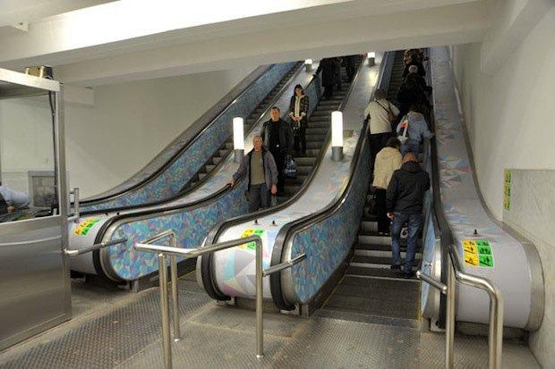 Обновлённая станция метро «Текстильщики». Изображение № 3.