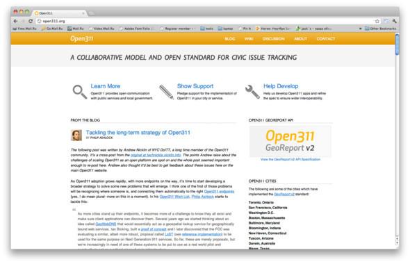 Open 311 работает в Сан-Франциско, Нью-Йорке, Вашингтоне, Бостоне и даже в австралийском Дарвине.. Изображение № 17.